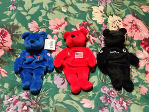 Wayne Gretzky commemorative beanie bears