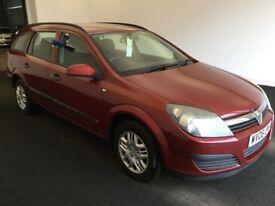 2006 06 Reg Vauxhall Astra Estate 1.8 Life, Petrol, Automatic, 5 Door, Metallic Red, FSH, May MOT