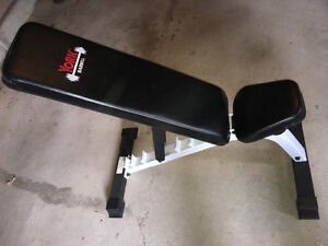 YORK FTS FLAT to INCLINE ADJUSTABLE BENCH Oakville / Halton Region Toronto (GTA) image 1