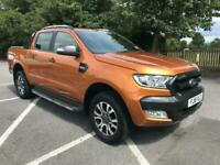 2016 Ford Ranger 3.2 TDCi Wildtrak Double Cab Pickup Auto 4WD 4dr Pickup Diesel