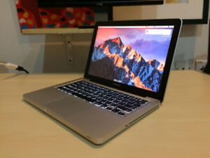MacBook Pro 13 i7 8GB 128GB GB MS Office 2016 & Final Cut