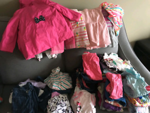 18-24 month girls brand name clothing. Gently worn