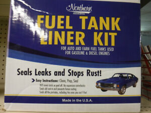 Farm Tractor Fuel Tank Liner Kit Includes Cleaner Prep and Liner