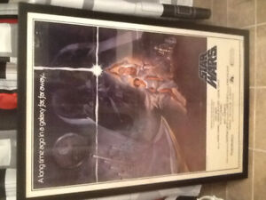 Star Wars 1977 Original Poster and 1977 Lobby Card Set ( 8 )