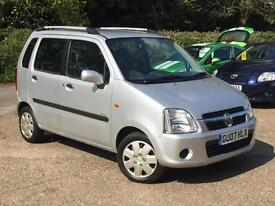 2007 Vauxhall Agila 1.2 Design 5 Door Silver only 48,241 Miles Warranted SUPERB