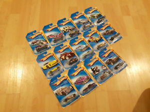 Hot Wheels // 86 car collection // Rare and common