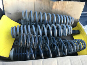 Can am stock shocks and heavy duty springs