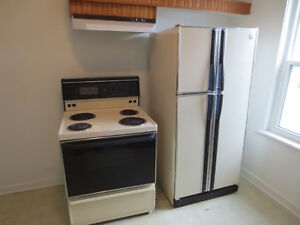 GE refridgerater and stove