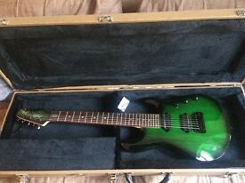 Unplayed, Brand New Musicman Sterling John Petrucci JP70 7 String Guitar with hard case