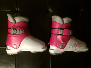 Girls Tecno Pro T30 Junior Ski Boots Size 18.5