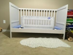 Ikea Sundvik Crib complete with Mattress and more Like New