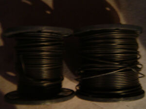 2 SPOOLS of 20-CMR-SD HDTV SERIAL DIGITAL 20 AWG CABLE, $30.