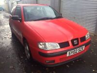 Bargain trade in to clear, seat Ibiza 1.4 good miles 5 months MOT