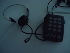 Phone Touchpad /Headset-Great for Telemarketers
