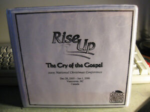 Rise Up-Cry of the Gospel -16 cd-r Catholic Christian Outreach +