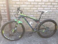 Cube gtc reaction small mountain bike
