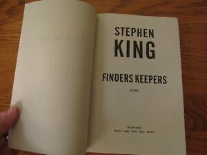 """""""Finders Keepers"""" by Stephen King - Brand New! Great Gift Idea! Kingston Kingston Area image 4"""