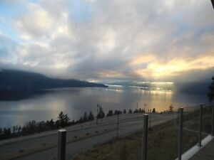 Home for sale  unobstructed million $ views of Okanogan lake