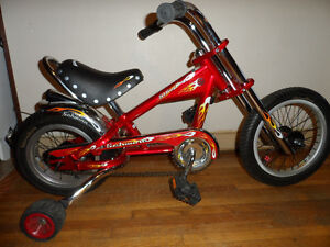 Kid's OCC Schwinn StingRay Chopper Bicycle (W/ Trainers!)