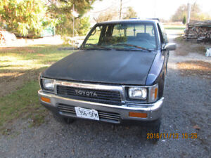 1995 Toyota Tacoma Pickup Truck 4x4 down payment made