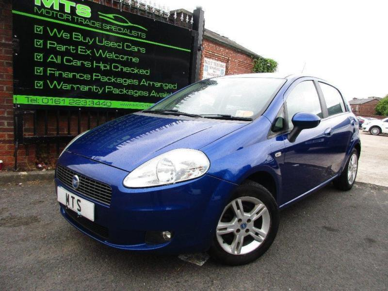 2007 fiat grande punto 1 2 dynamic 5dr in clayton manchester gumtree. Black Bedroom Furniture Sets. Home Design Ideas