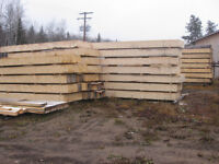 12x12x16ft Timbers and 3 inch thick deck boards