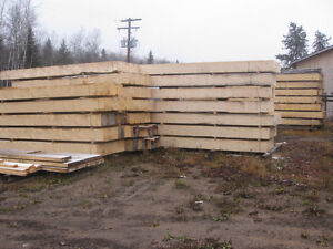 12x12x16ft Timbers and 3 inch thick lowbed  deck boards