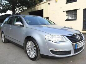 2009 59 Volkswagen Passat 2.0TDI (140) Highline 6 Speed Estate Met Reflex Silver