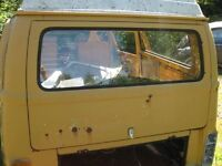 VW bus rear hatch