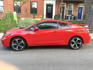 Honda Civic SI 2014 condition A1. Clean.