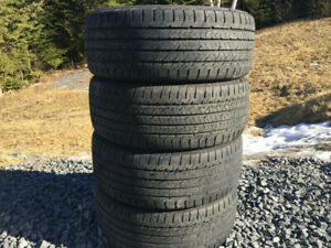 Four Good/Year 225/50R17 Summer Tires