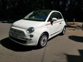 £116.76 PER MONTH Fiat 500 1.2 LOUNGE PETROL MANUAL