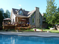 Custom Home on 13.8 Acres on The Big Head River (Meaford)