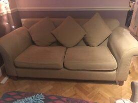 Free 2 seater sofa - cream