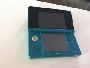 Nintendo 3DS - Aqua Blue + Zelda - Ocarina of Time