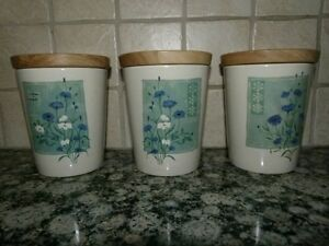 Pimpernel Ceramic Canisters (set of 3)