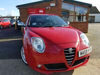 2010 Alfa Romeo MiTo 1.4TB 120bhp Veloce MANUAL PETROL NEW SERVICE