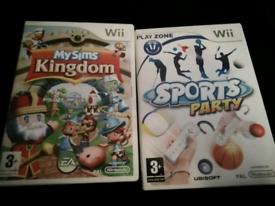 NINTENDO Wii GAMES £5