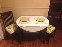 Beautiful Refinished two seater table