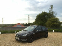 2006/56 Ford Focus 2.5 ST-3 225 3 Door Hatchback Black