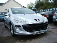 2009 Peugeot 308 1.6HDi SR 5d **58k / £30 Tax**