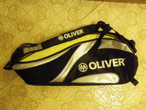Oliver Top Pro Tennis Carrying Bag, Holds 6 Rackets / Racquets