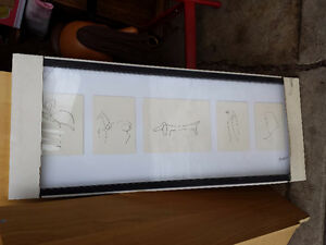 Ikea Olunda Picasso Framed Picture - NEW