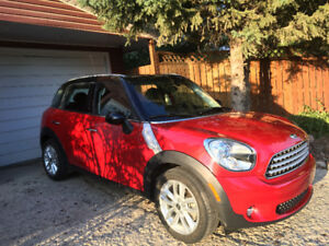 2014 Countryman Mini Cooper with low km's