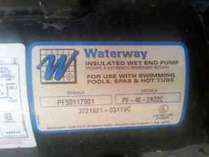 Hot tub pump, Waterway Executive 56, 2 speed Kawartha Lakes Peterborough Area image 2