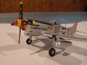 FRANKLIN MINT  Aircraft  P 51 Mustang Glamorous Glen III