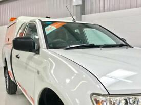 MITSUBISHI L200 4x4 2.5DI-D CR 4WD CLUB CAB 4Work LOW MILEAGE PICKUP 1 OWNER FSH