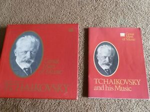 Timelife Great men of music Tchaikovsky
