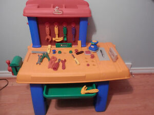 Little Tikes Tool Bench with Tools Windsor Region Ontario image 1