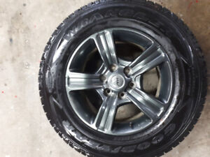 Used Winter Tires and wheel
